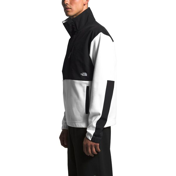 Men's Graphic Collection Pullover Jacket, TNF WHITE/TNF BLACK, hi-res