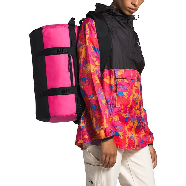 Base Camp Duffel - XS, MR. PINK/TNF BLACK, hi-res