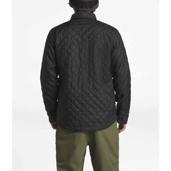 MEN'S FORT POINT INSULATED FLANNEL, TNF BLACK/TNF BLACK, hi-res