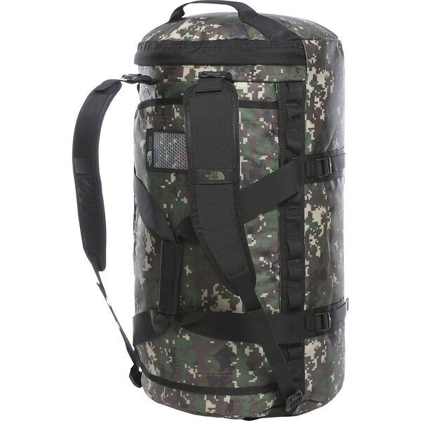 Base Camp Duffel - M, BURNT OLIVE GREEN DIGI CAMO/TNF BLACK, hi-res
