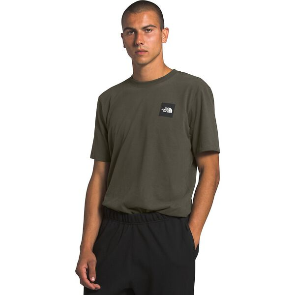 Men's Short-Sleeve Red Box Tee, NEW TAUPE GREEN, hi-res