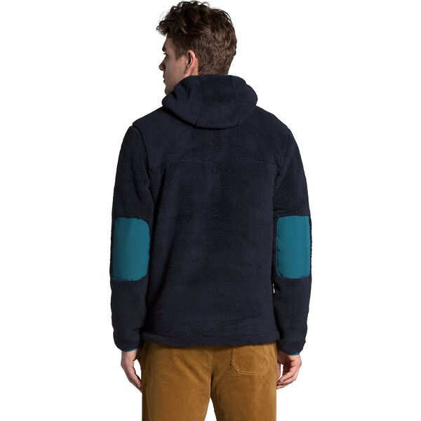 Men's Campshire Pullover Hoodie, AVIATOR NAVY/MALLARD BLUE, hi-res