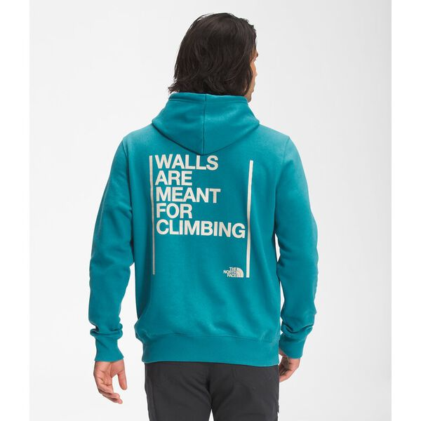 Unisex Walls Are Meant For Climbing Pullover Hoodie