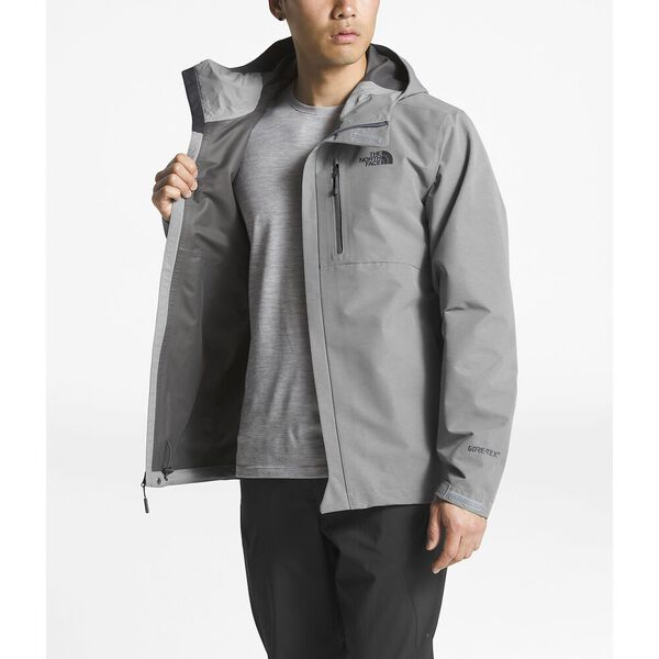MEN'S DRYZZLE JACKET, TNF MEDIUM GREY HEATHER, hi-res