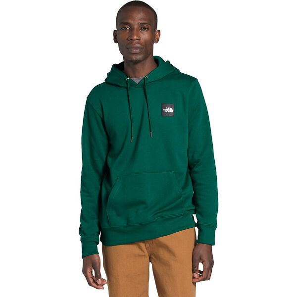 Men's 2.0 Box Pullover Hoodie, EVERGREEN/TNF BLACK, hi-res