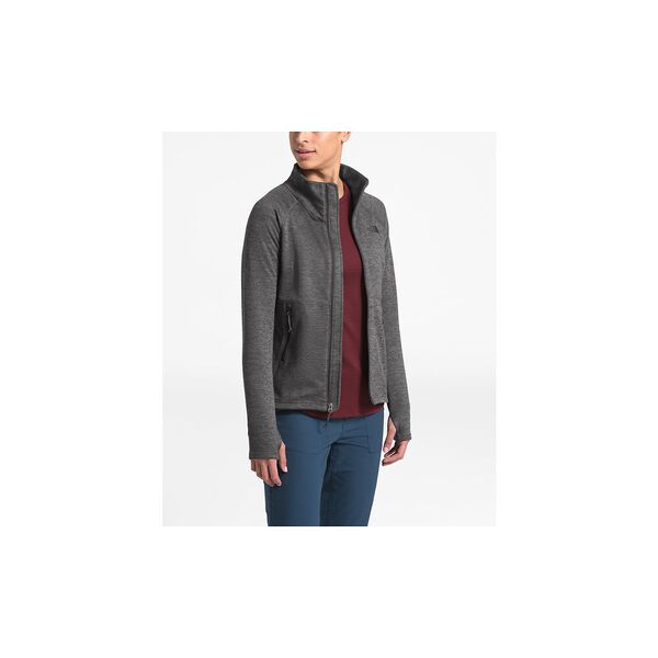 Women's Canyonlands Full Zip, TNF DARK GREY HEATHER, hi-res