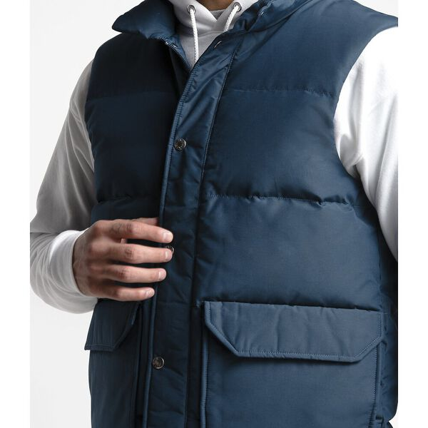 Men's Down Sierra 3.0 Vest, BLUE WING TEAL, hi-res