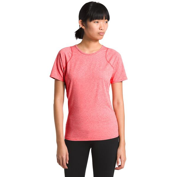 Women's Essential Short-Sleeve, CAYENNE RED HEATHER, hi-res