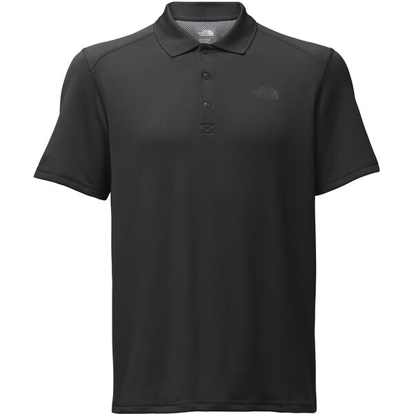 MEN'S S/S HORIZON POLO, TNF BLACK, hi-res