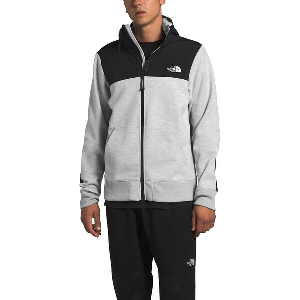 Men's Graphic Collection Overlay Jacket, TNF LIGHT GREY HEATHER, hi-res