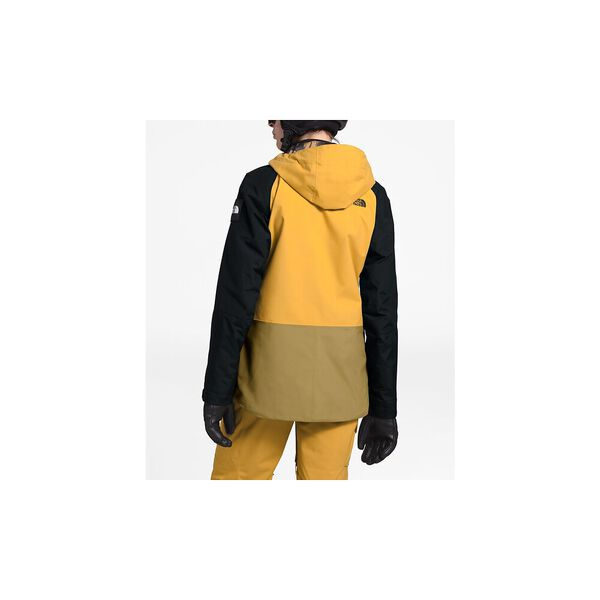 Women's Superlu Jacket, GOLDEN SPICE/TNF BLACK/BRITISH KHAKI, hi-res