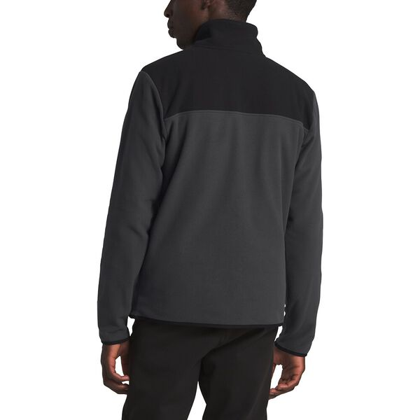 Men's TKA Glacier Fleece ¼ Zip, ASPHALT GREY/TNF BLACK, hi-res