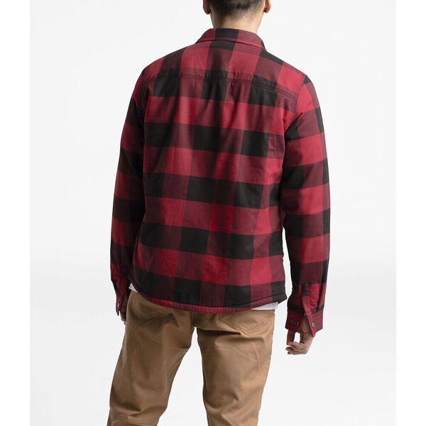 Men's Campshire Shirt, CARDINAL RED BUFFALO BILL PLAID PRINT, hi-res