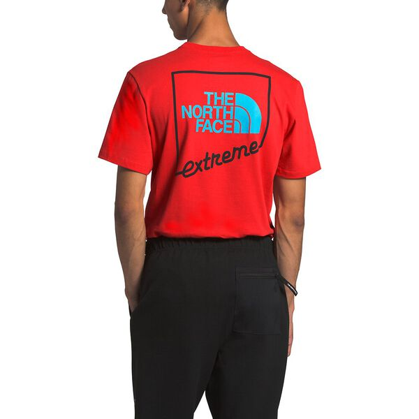 Men's Short-Sleeve Extreme Tee, FIERY RED, hi-res