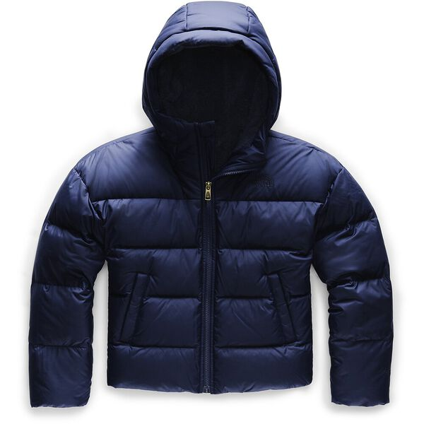 GIRL'S MOONDOGGY DOWN JACKET, MONTAGUE BLUE, hi-res