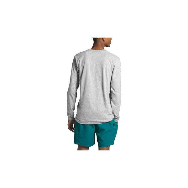 Men's Long-Sleeve TNF™ Sleeve Hit Tee, TNF LIGHT GREY HEATHER, hi-res