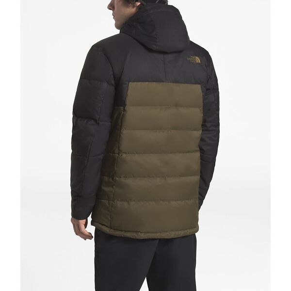 MEN'S GATEBREAK DOWN JACKET, BEECH GREEN/TNF BLACK, hi-res
