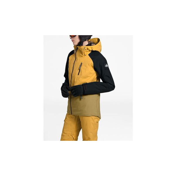 Women's Superlu Jacket, GOLDEN SPICE/TNF BLACK/BRITISH KHAKI, hi-res