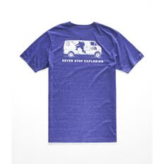 MEN'S S/S PONY WHEEL TRI-BLEND TEE