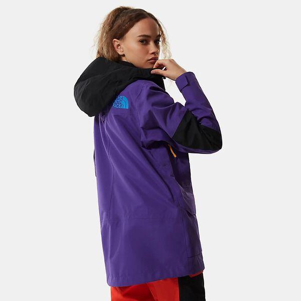 Women's Team Kit Jacket, PEAK PURPLE/FLARE/TNF BLACK, hi-res