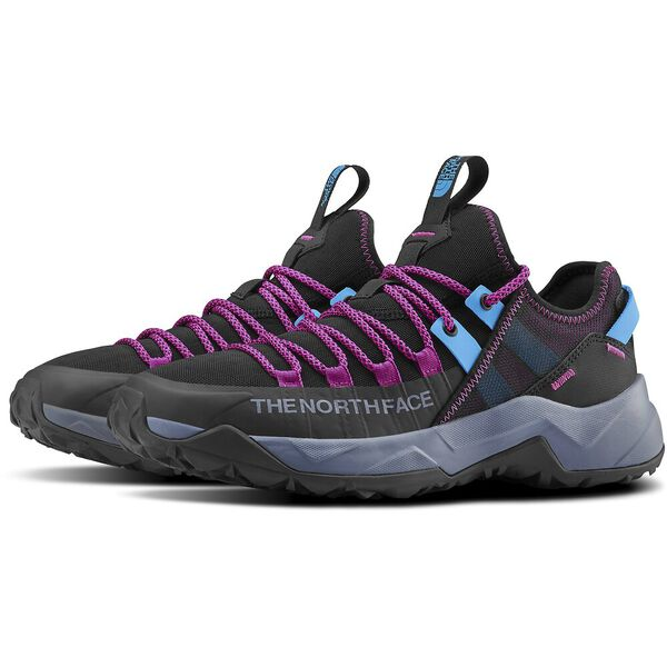 WOMEN'S TRAIL ESCAPE EDGE SHOES, TNF BLACK/FESTIVAL PINK, hi-res
