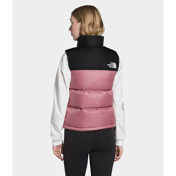 Women's 1996 Retro Nuptse Vest, MESA ROSE, hi-res