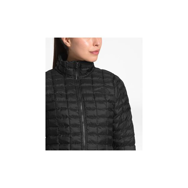 WOMEN'S THERMOBALL ECO JACKET, TNF BLACK MATTE, hi-res