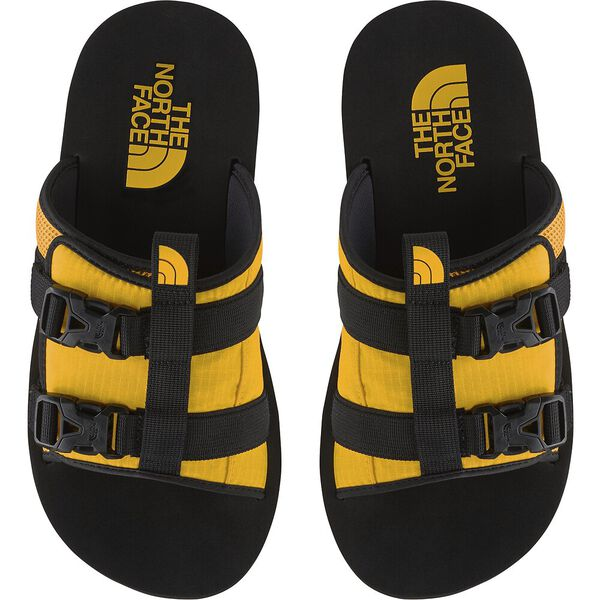 Men's EQBC Slide, TNF BLACK/TNF YELLOW, hi-res
