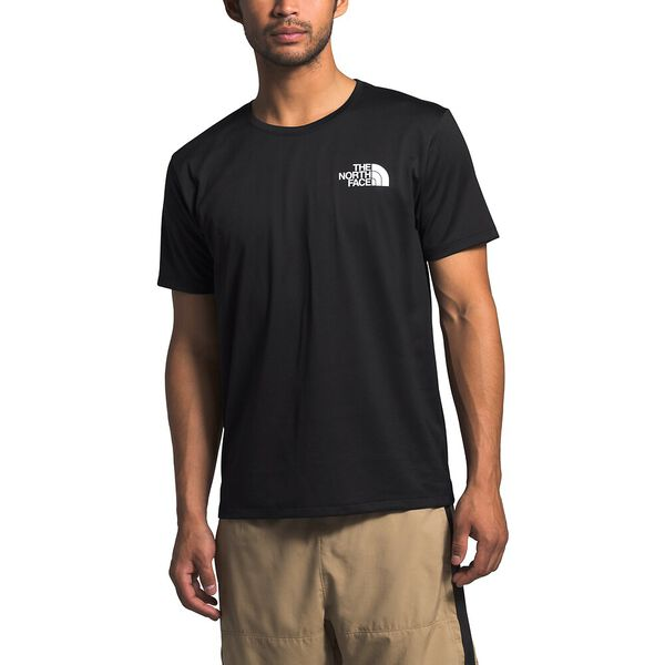Men's Short-Sleeve Reaxion Tee, TNF BLACK, hi-res