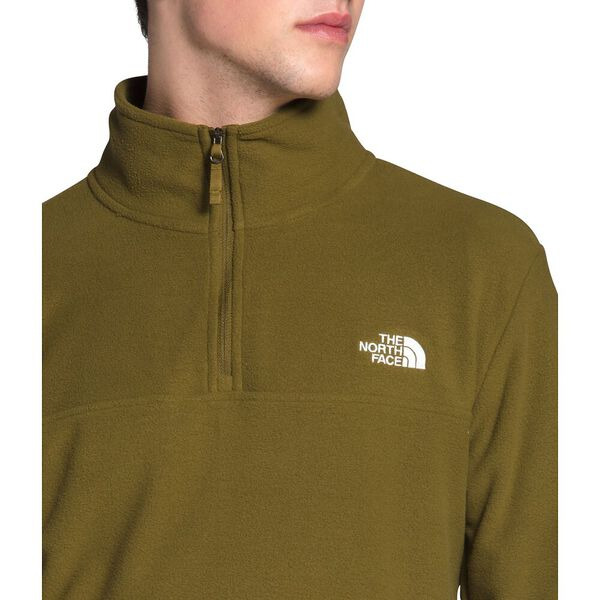 Men's TKA Glacier ¼ Zip, FIR GREEN, hi-res