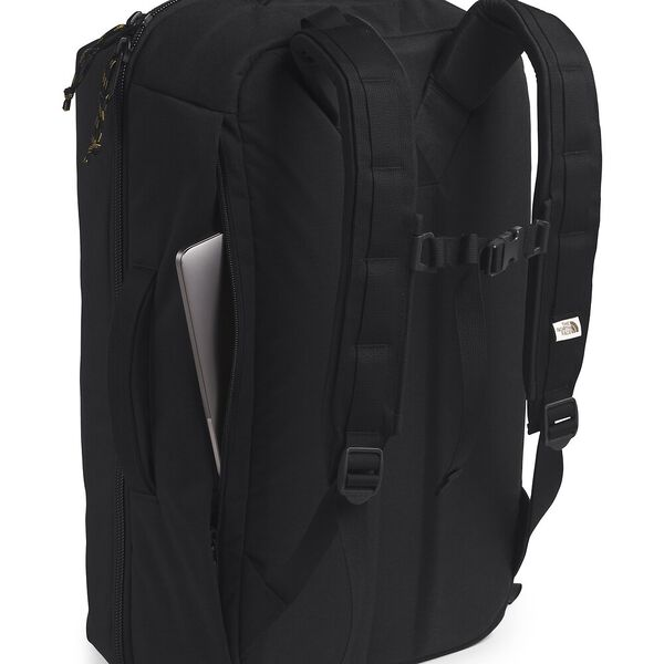 Travel Duffel Pack, TNF BLACK HEATHER, hi-res