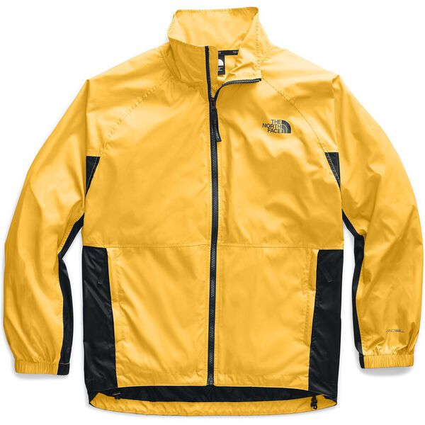 Women's NSE Graphic Wind Jacket, TNF YELLOW/TNF BLACK, hi-res