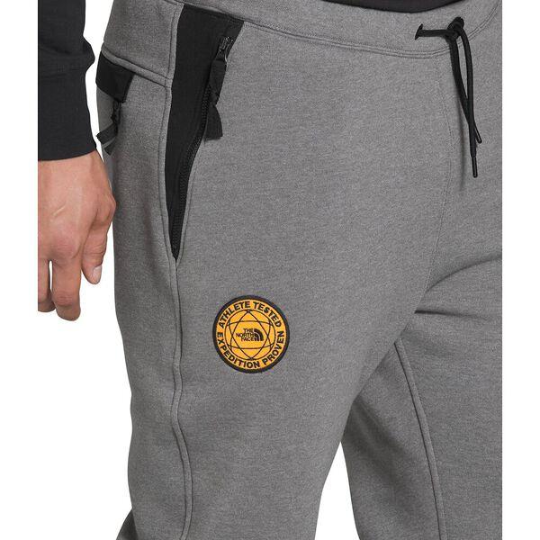 Men's Graphic Collection Pants, TNF MEDIUM GREY HEATHER/TNF BLACK, hi-res