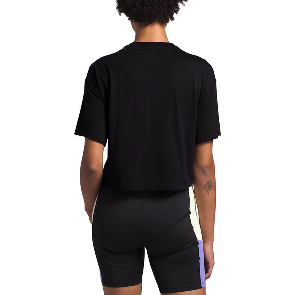 Women's Short-Sleeve Extreme Crop Tee, TNF BLACK, hi-res