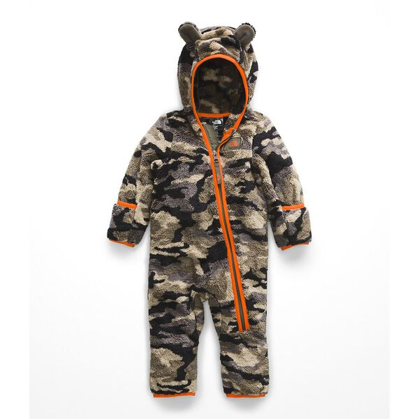 INFANT CAMPSHIRE ONE-PIECE, NEW TAUPE GREEN GRANDE CAMOUFLAGE PRINT, hi-res