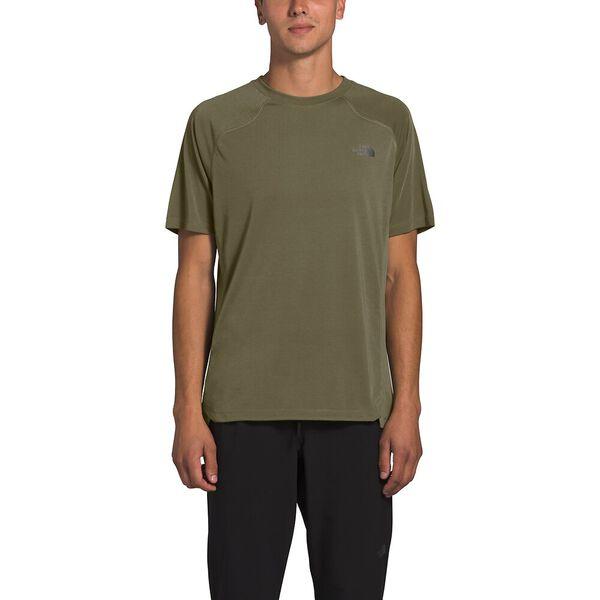 Men's Essential Short-Sleeve, BURNT OLIVE GREEN, hi-res