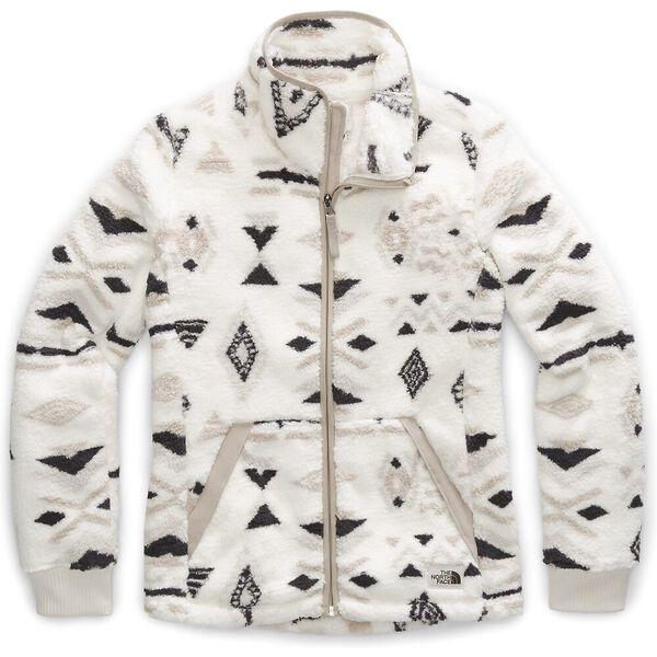 Women's Campshire Full Zip Jacket, VINTAGE WHITE CALIFORNIA GEO PRINT, hi-res