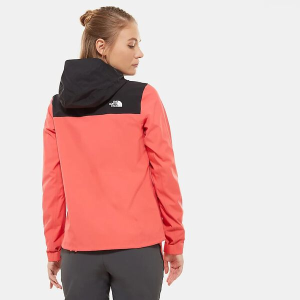 Women's Tente FUTURELIGHT™ Jacket, CAYENNE RED/TNF BLACK, hi-res