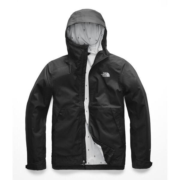 MEN'S MILLERTON JACKET, TNF BLACK-HIGH RISE GREY CAMPFIRE PRINT, hi-res