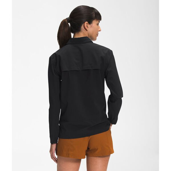 Women's First Trail UPF Long-Sleeve Shirt, TNF BLACK, hi-res