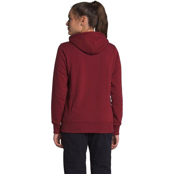 Women's Trivert Pullover Hoodie, POMEGRANATE, hi-res