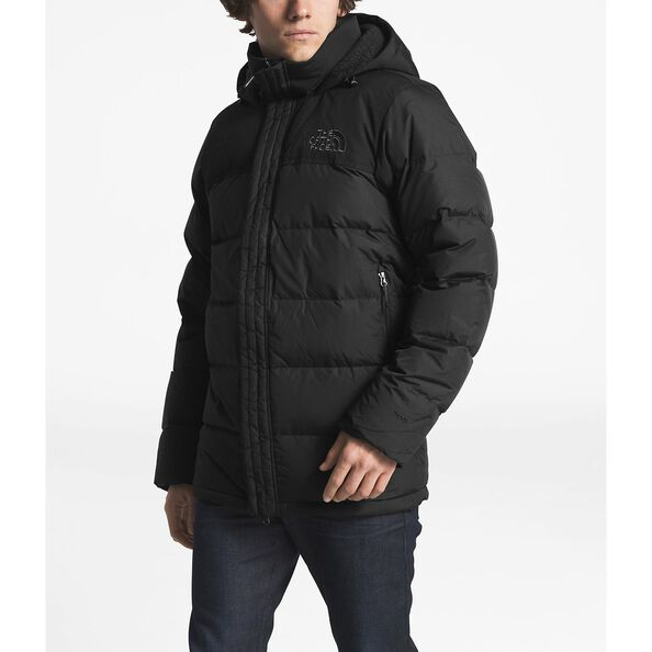 MEN'S NUPTSE RIDGE PARKA, TNF BLACK/TNF BLACK, hi-res