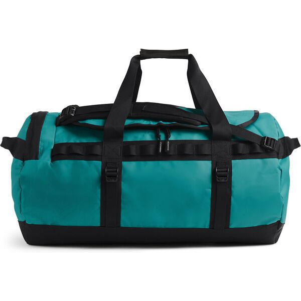 Base Camp Duffel - M, FANFARE GREEN/TNF BLACK, hi-res