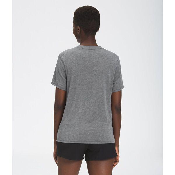Women's Wander Short-Sleeve, TNF MEDIUM GREY HEATHER, hi-res