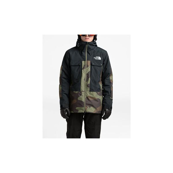 MEN'S BALFRON JACKET, FOUR LEAF CLOVER TERRA CAMO PRINT/TNF BLACK, hi-res