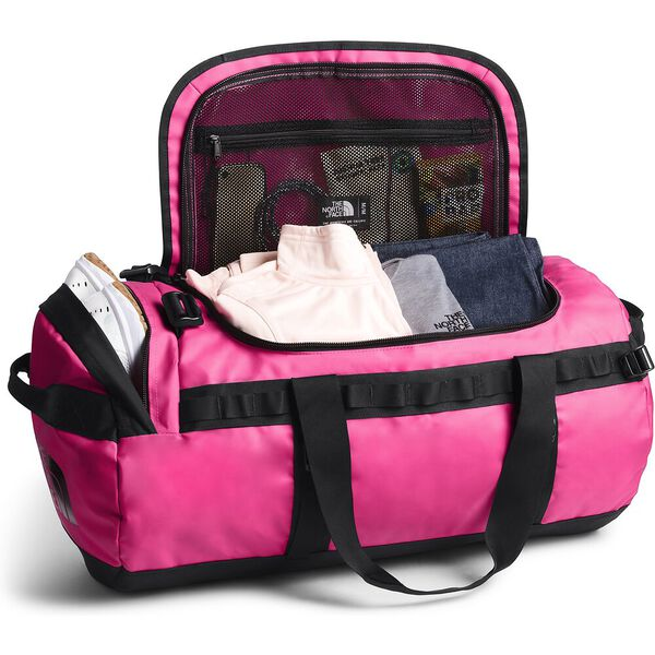 Base Camp Duffel - M, MR. PINK/TNF BLACK, hi-res
