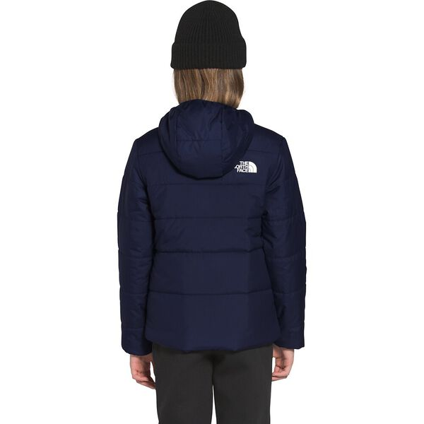 Girls' Reversible Perrito Jacket, TNF NAVY, hi-res