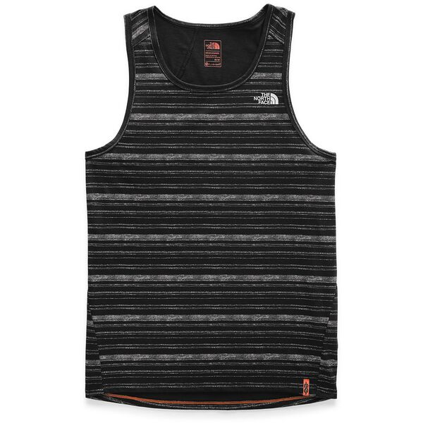 MEN'S BEYOND THE WALL TANK, TNF BLACK HEATHER, hi-res