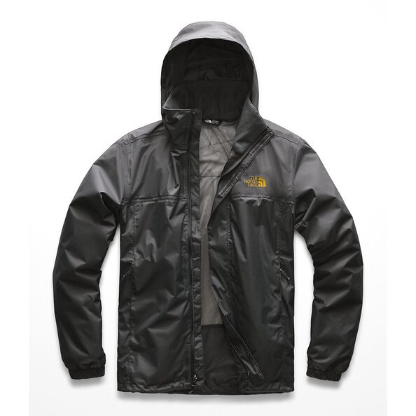 MEN'S RESOLVE 2 JACKET, ASPHALT GREY-ZINNIA ORANGE, hi-res