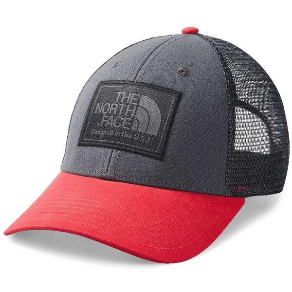 Mudder Trucker Hat, CARDINAL RED/ASPHALT GREY, hi-res
